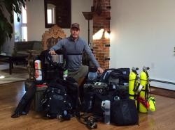 Gear I needed for rebreather training