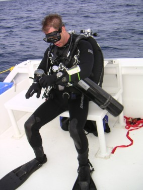 Diving the Oriskany on the one anniversary of its sinking
